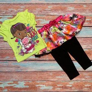 Disney Doc McStuffins 2-Piece Outfit